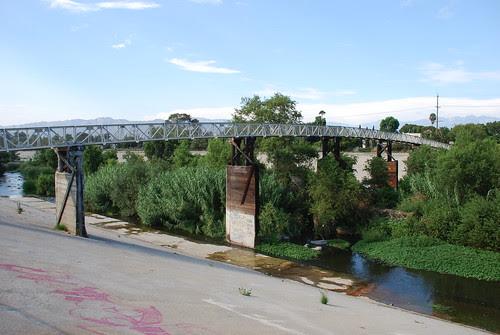 Sunnynook Footbridge over L.A. River