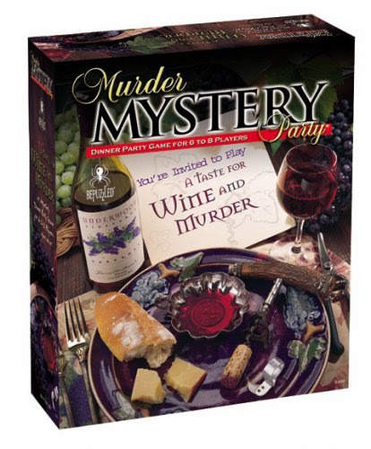 Murder Mystery Party Games - A Taste for Wine and Murder