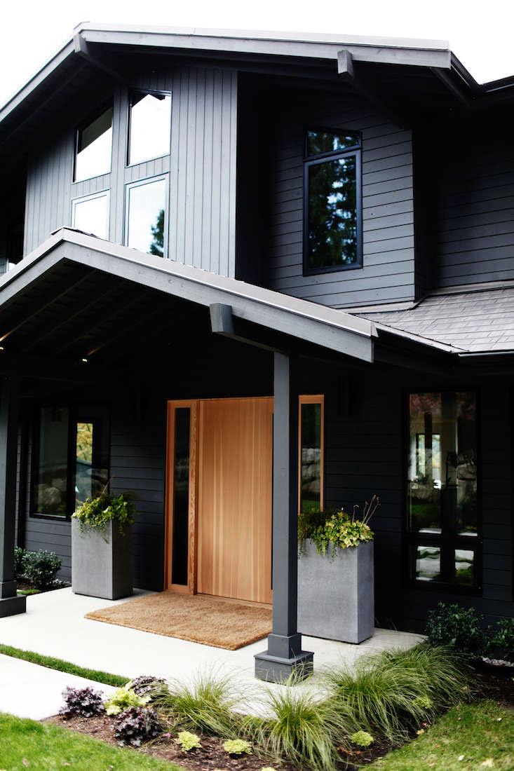 Sleekness in Seattle: Modern Garden, Midcentury House ...