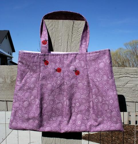 Lady bug purse