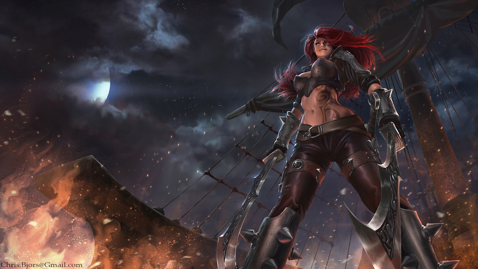 Katarina Wallpapers Fan Arts League Of Legends Lol Stats