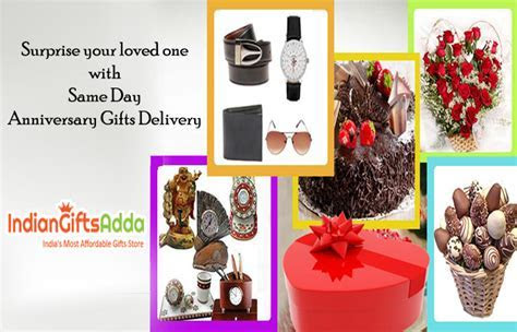 Surprise your loved one with Same Day Anniversary Gifts