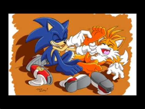 sonic tickles tails youtube