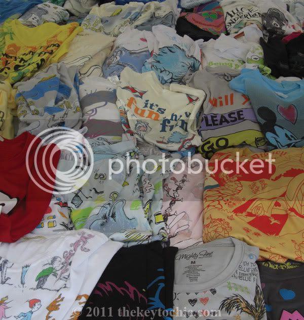 Ventura Flea Market, graphic T-shirts