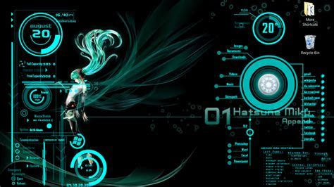 Hatsune Miku Rainmaker desktop by 93XG on DeviantArt