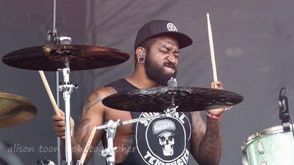 Loniel Robinson, drums, letlive
