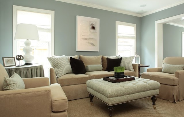 Living Room Paint Color Ideas - traditional - living room -