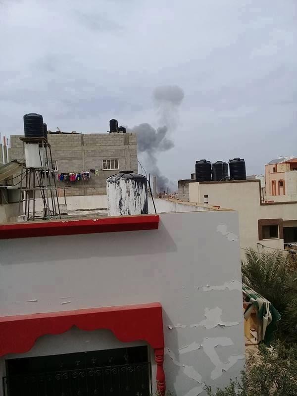 قصف صهيوني على غزة السودانية الان ... 18/3/2017 صور
