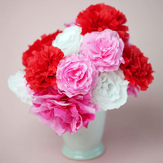 Everlasting Love Paper Bouquet