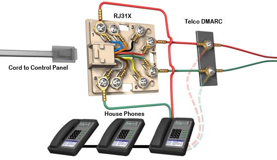 Wiring Termination Instruction And Diagram Rj11 Rj45 Jack
