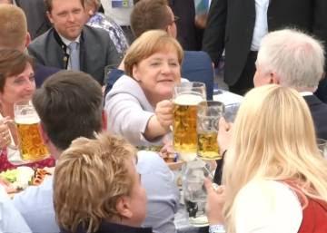 """Merkel: """"Los europeos tenemos que tomar el destino en nuestras manos"""""""