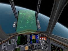 Delta Glider HUD and MFDs