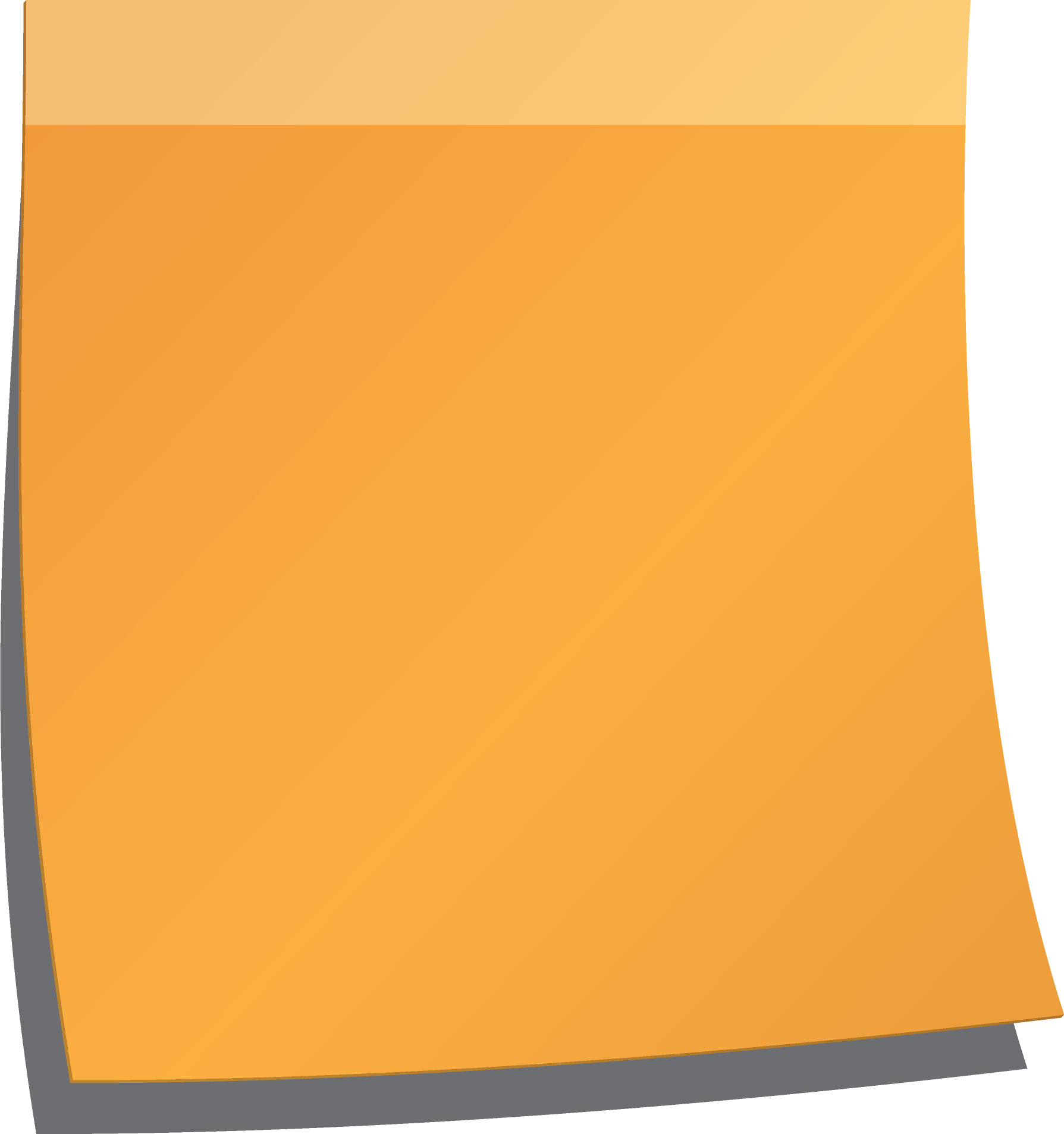 Transparent Cute Sticky Note Png - Laptopg
