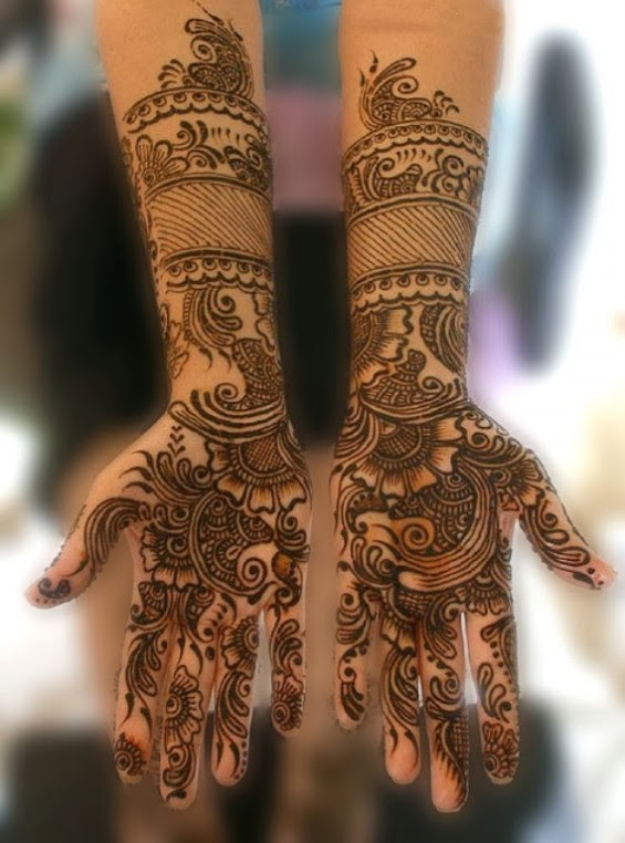 fashion  u0026 fok  beautiful mehndi full hand