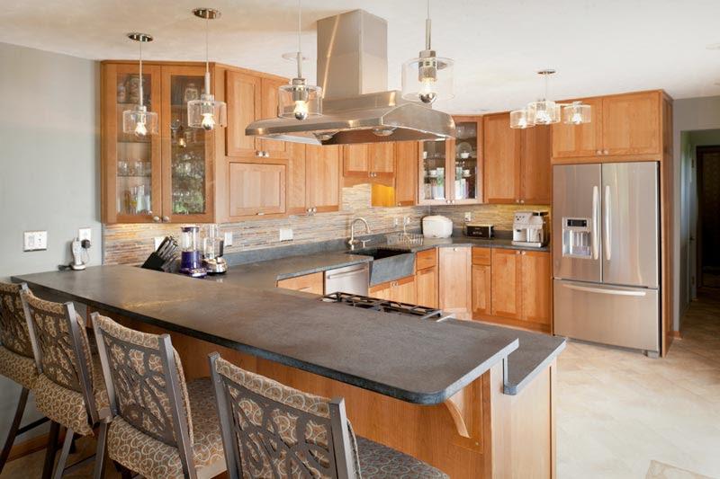 Kitchen With Bar Counter Design | Home Design Ideas Essentials