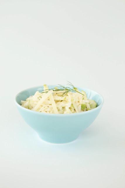 apple-fennel salad
