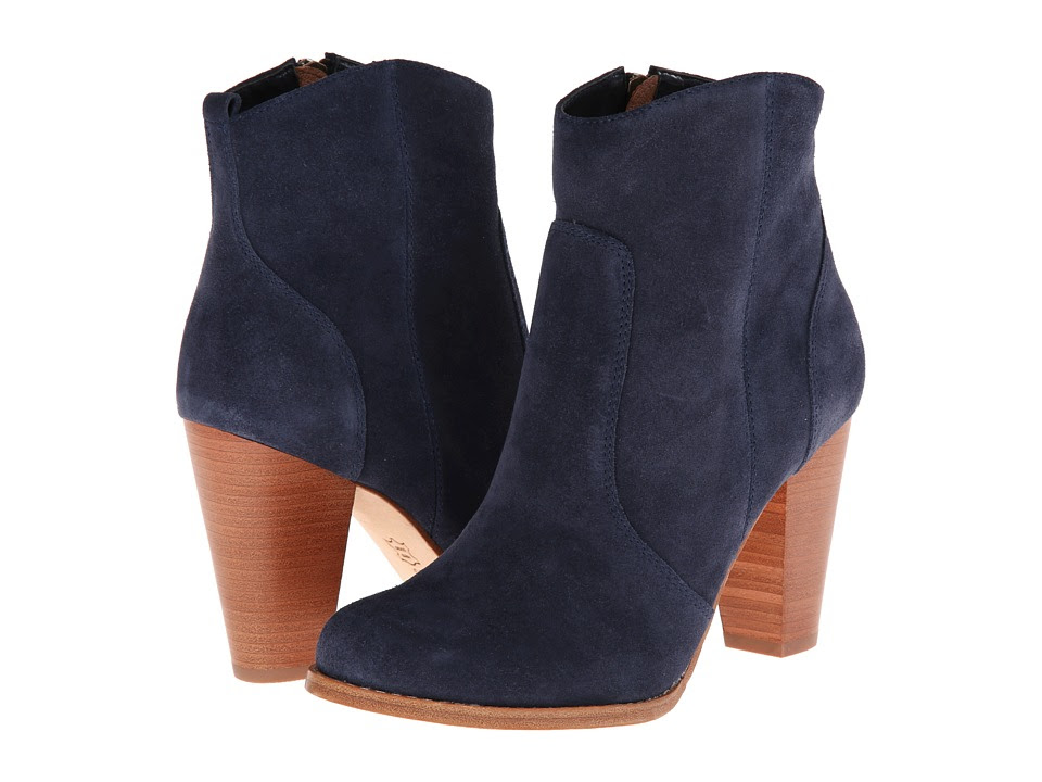 Joie - Dalton (Denim Suede) Women's Dress Zip Boots