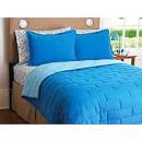 Your Zone Reversible Comforter and Sham Set, Light Blue - Walmart.
