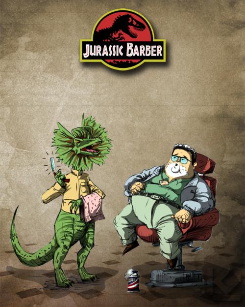 krisztiankiraly:<br /><br />Jurassic Barber<br />