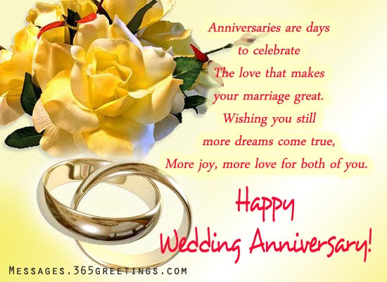 10 Fresh Marriage Anniversary Message