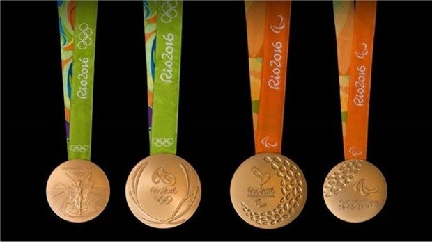 Medalhas de ouro devem conter pelo menos 6 gramas de ouro 24 quilates (Foto: BBC)