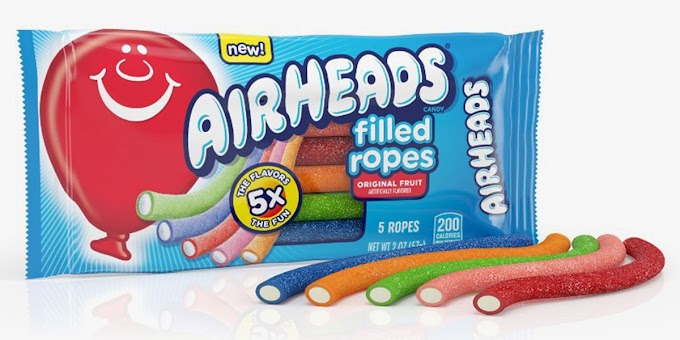 The New Airheads Filled Ropes Come in 5 Flavors, Including Bluest Raspberry