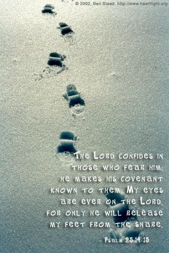 Psalm 25:14-15 (47 kb)