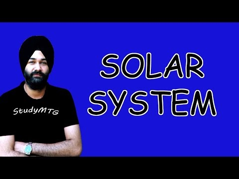 Solar System | Classification Of Planets | Natural Satellites | Geography | 2020