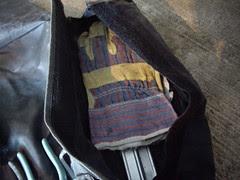 work gloves  in ural toolkit