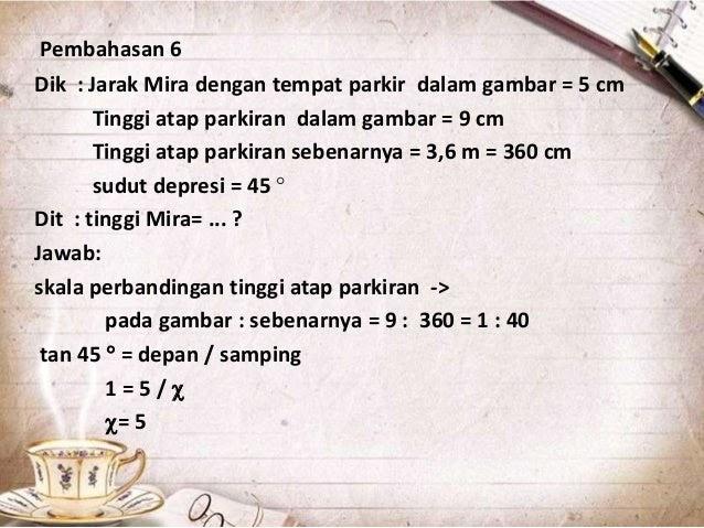 Contoh Soal Dan Materi Pelajaran 5 Contoh Soal Trigonometri Dalam