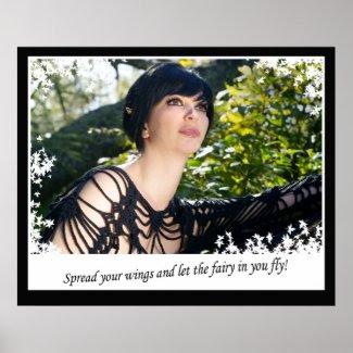 fairy Fly print
