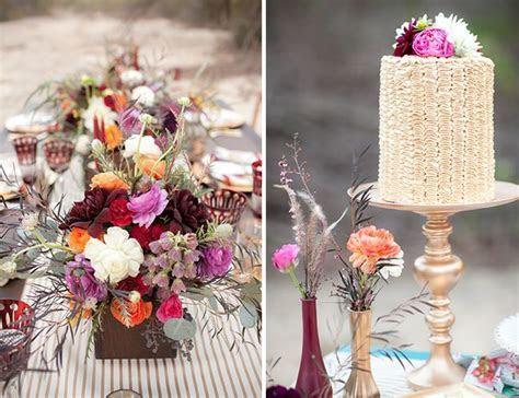 31 best Bohemian inspiration styled Wedding cakes