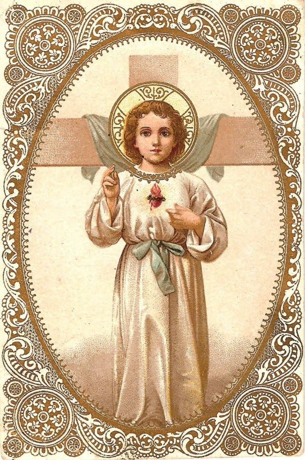 Sacred Heart with child Jesus