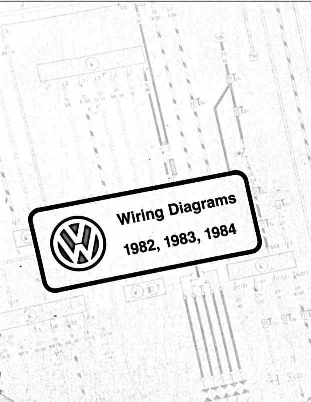 Vw Wiring Diagram Pdfs 1982 1983 1984 Chris Chemidl In