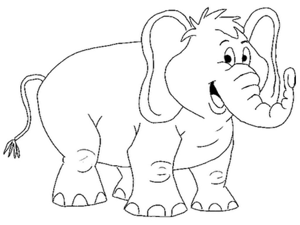 Coloring Elephant Hd Football
