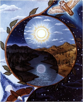 Spiritual Ying Yang Graphics Myspace