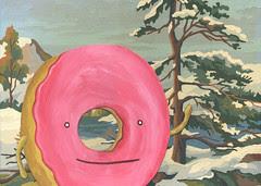 Frosty the Donut