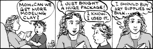 Home Spun comic strip #459