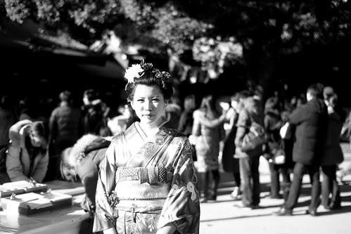 A young woman celebrating Seijin No Hi 2