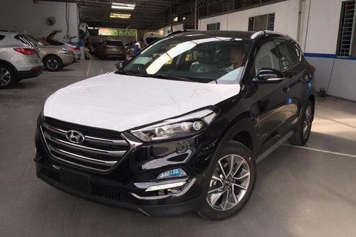 Hyundai Tucson 2017 về Việt Nam với bộ mâm mới - 1