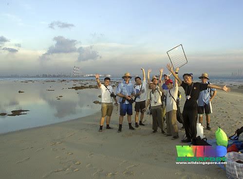 TeamSeagrass at Cyrene Mar 07