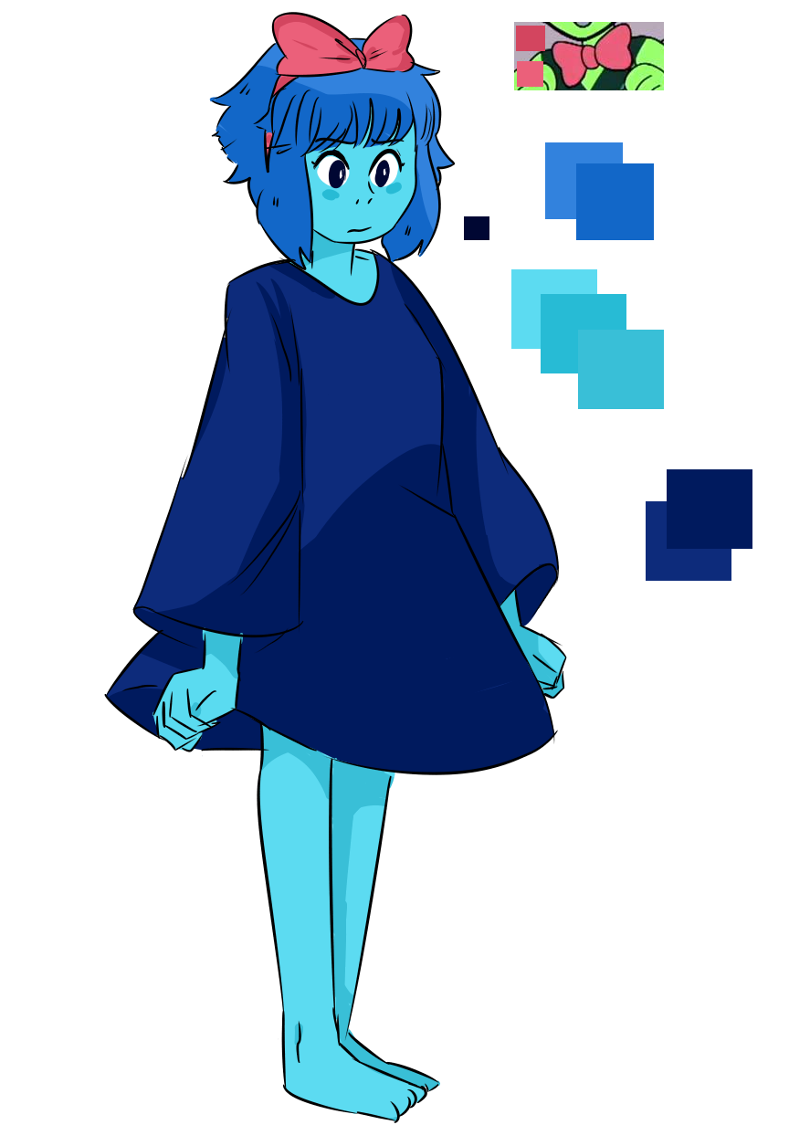 Lapis as Kiki! Y'know…bc she's a Water Witch ;;;;)