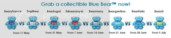 World Cup Syndrome, Celcom Blue Bear