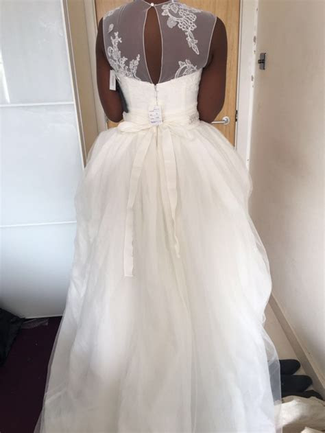 Vera Wang WHITE BY VERA WANG VW351315 New Wedding Dress on
