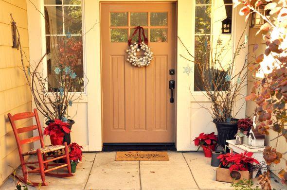 front porch {for christmas} - Lisa Leonard Designs Blog