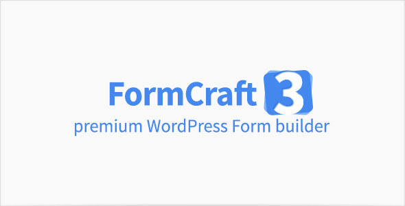 Download Premium Form Builder FormCraft v3.5.4 - WordPress Plugin