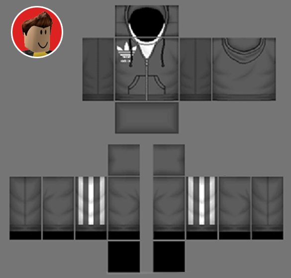 Roblox Hoodie Templates Coolest Roblox Skins Templates - how to make roblox skins