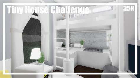 bloxburg tiny house challenge speedbuild youtube