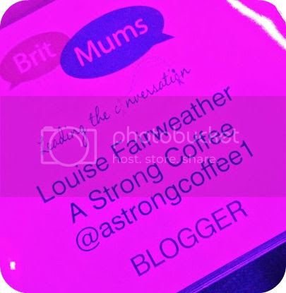 Britmums blogger badge