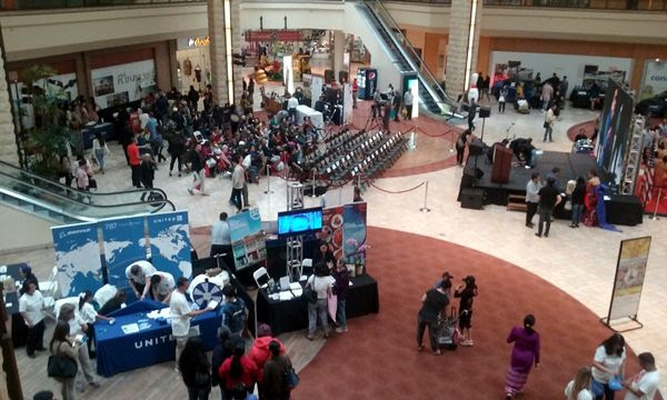 Another snapshot of ASEAN Fest 2018 at Puente Hills Mall in City of Industry, California...on May 26, 2018.